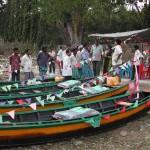 Distribution des bateaux en bois aux pêcheurs de Bamboo Flat