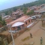 Le village terminé (31 maisons jumelles)