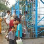 Filtre à eau pour un village