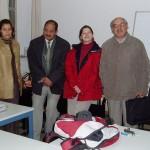 Les Amis du Zat - Stagiaire Solidarité et M. Bellaoui