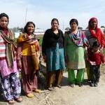 Groupe de femmes à Baanw, formées à l'agroécologie