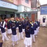 Spectacle des enfants à l'école