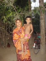 Aslama et un de ses enfants