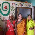 Vanadana Shiva et des gardiennes de semences en Inde