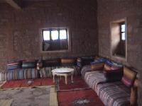 Photo de l'intérieur du gîte de Warzazt