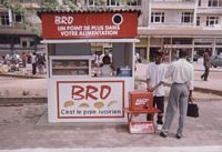 Image représentant un kiosque de vente de bro