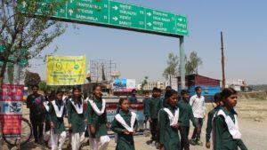 Beej Satyagraha yatra P M V Sheeshambara students bd