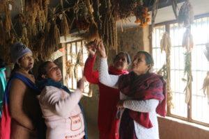 Farmers visited to Navdanya seed bank (2)