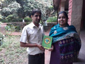 Jeu Eco'Landi remis à notre partenaire local indien, Navdanya, en octobre 2018