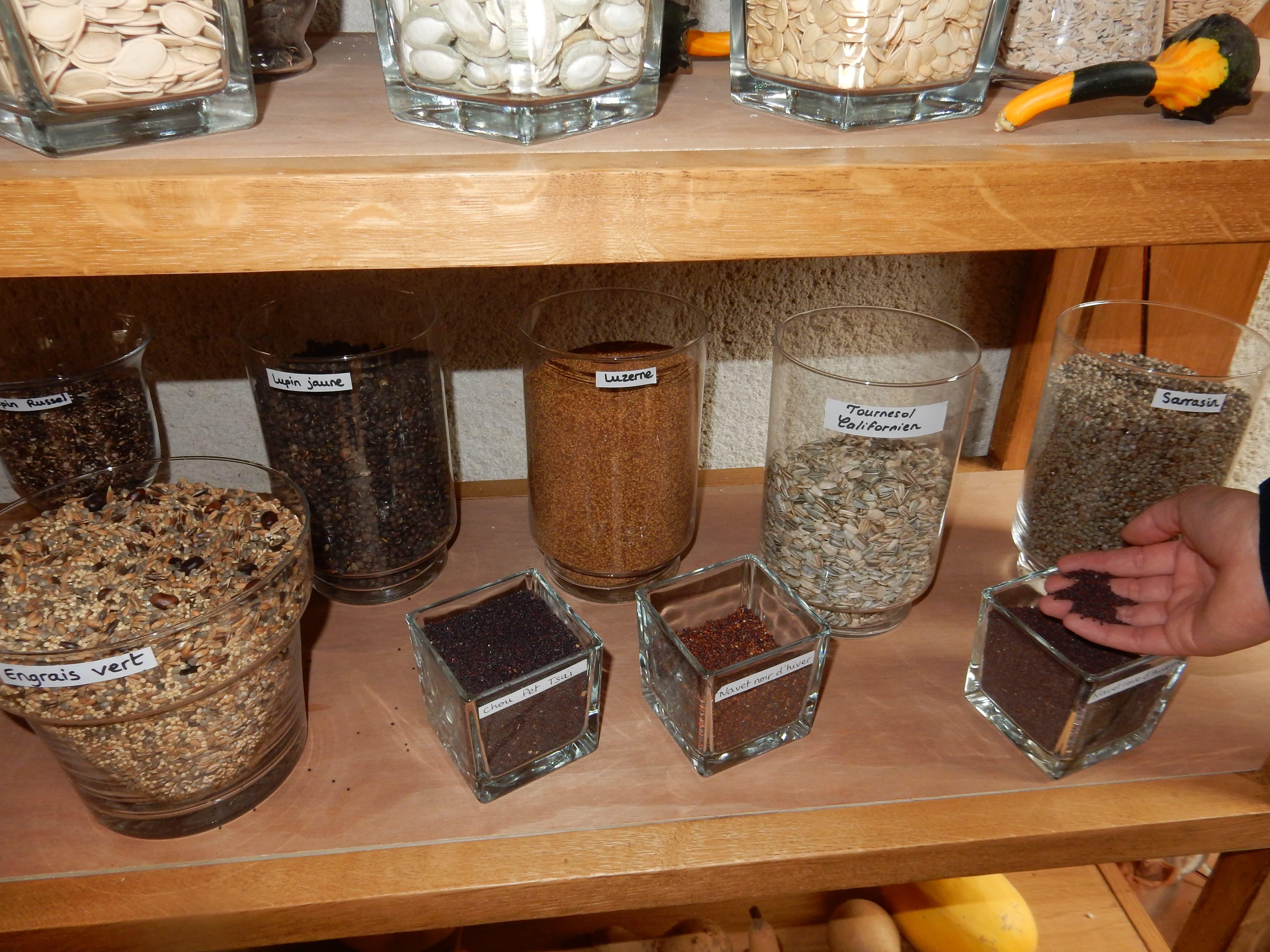 Conservatoire de semences de la Ferme Sainte-Marthe Sologne - Biofermes France