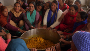 Formation à la transformation alimentaire à la ferme de Navdanya