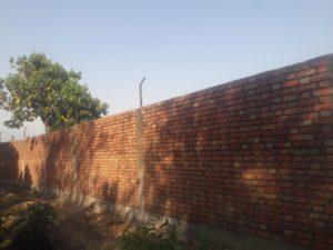 Wall making at Navdanya farm (2)