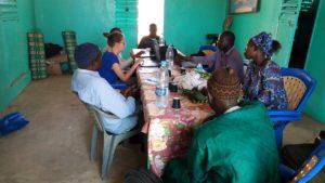 Réunion entre les différents partenaires pour discuter de la phase 2 du projet