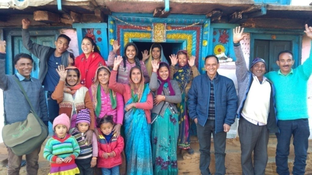 Selected members and family in Rudraprayag area