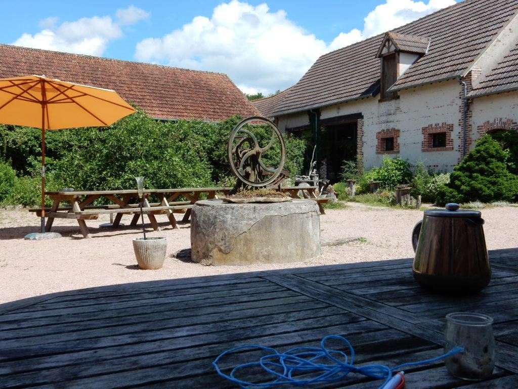 La ferme de Sainte Marthe, en Sologne