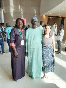Clotilde, Déléguée Générale de SOL aux Journées de l'Agroécologie à Dakar